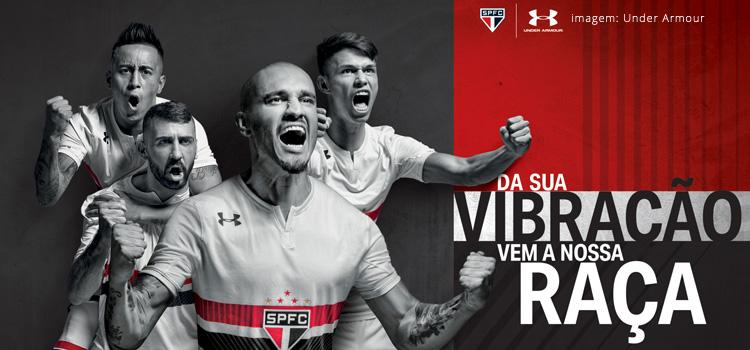 396bfce7e8 OFICIAL Nova camisa 2017/2018: opinião, evento de lançamento e venda  online! Nação do Maior do Mundo;. O São Paulo ...