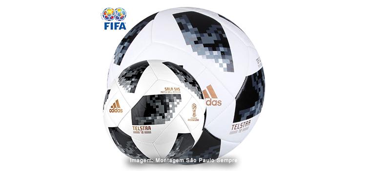1c66565631 Bolas Adidas Telstar 18 Copa do Mundo FIFA em promoção na Netshoes ...