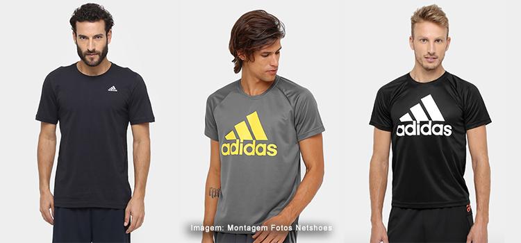6d2c4f4252 Camisetas Adidas com valores de até R  60