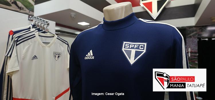 3d289761ff8 Saiba onde comprar a linha Treino Viagem 2019 do São Paulo FC